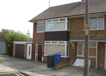 Thumbnail 3 bedroom terraced house to rent in Upton Close, Ipswich
