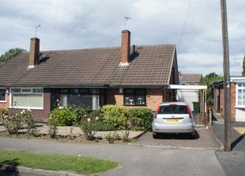 Thumbnail 2 bed semi-detached bungalow for sale in Clovelly Road, Glenfield, Leicester