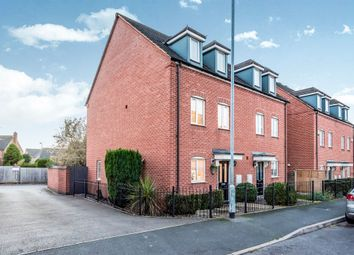 Thumbnail 3 bed town house for sale in Deykin Road, Lichfield
