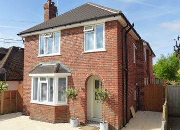 Thumbnail 4 bed detached house for sale in Dedmere Rise, Marlow