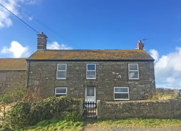 Thumbnail 5 bed detached house for sale in Western Farmhouse, Trengothal, St. Levan, Penzance, Cornwall