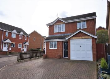 Thumbnail 3 bed detached house for sale in Kedleston Road, Peterborough