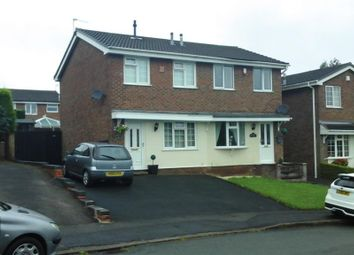 Thumbnail 2 bed semi-detached house for sale in Tamar Close, Congleton