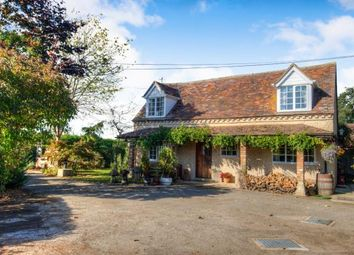 Thumbnail 3 bed detached house for sale in Badsey Fields Lane, Badsey, Evesham, Worcestershire