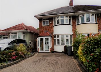 Thumbnail 3 bed semi-detached house to rent in Marcot Road, Solihull