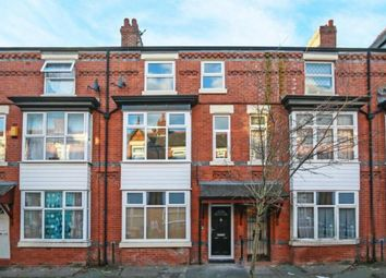 Thumbnail 5 bed town house for sale in Palmerston Avenue, Manchester