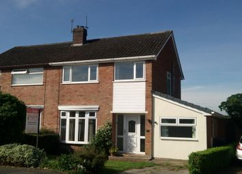 Thumbnail 3 bed semi-detached house for sale in Green Park, Weaverham, Northwich