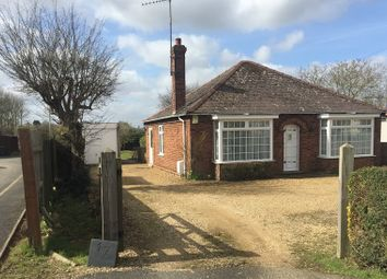 Thumbnail 3 bed bungalow for sale in Wood Street, Doddington, March