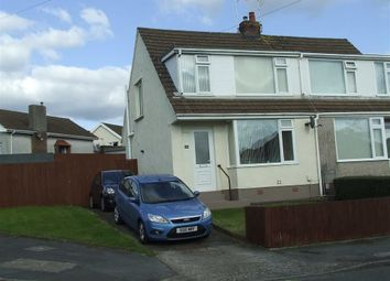 Thumbnail 3 bed semi-detached house for sale in Broadmead, Killay, Swansea