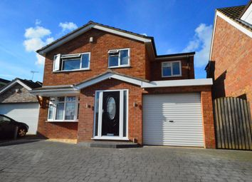 Thumbnail 4 bed detached house for sale in Coltbeck Avenue, Narborough, Leicester