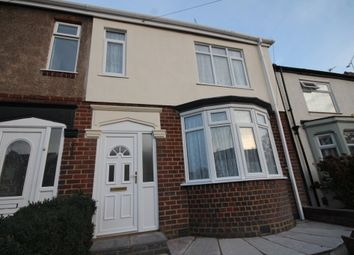 Thumbnail 3 bedroom end terrace house for sale in Grangemouth Road, Coventry