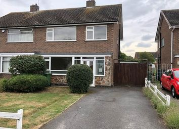 Thumbnail 3 bed semi-detached house to rent in Kew Drive, Oadby