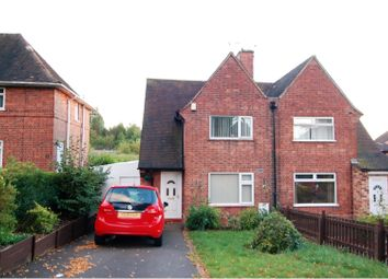 Thumbnail 3 bed semi-detached house for sale in Greenwood Road, Nottingham