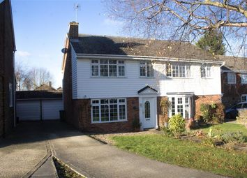 Thumbnail 3 bed semi-detached house for sale in Goose Acre, Cheddington, Leighton Buzzard