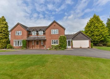 Thumbnail 4 bed detached house for sale in Gnosall Road, Knightley, Stafford