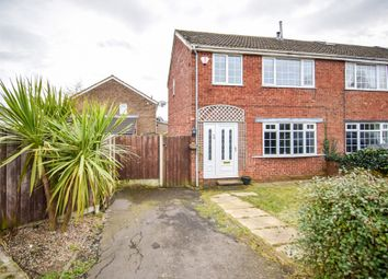 Thumbnail 3 bed semi-detached house for sale in Coxley Crescent, Netherton, Wakefield