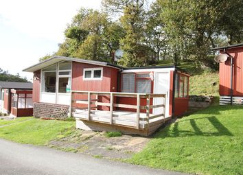 Thumbnail 2 bed mobile/park home for sale in Chalet 10, Erw Porthor, Happy Valley