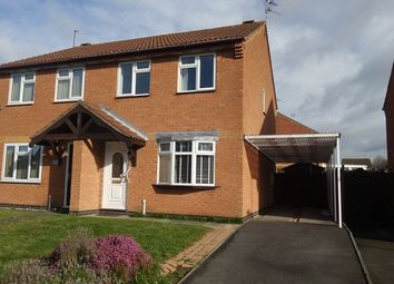 Thumbnail 3 bed semi-detached house to rent in Grove Road, Blaby, Leicester