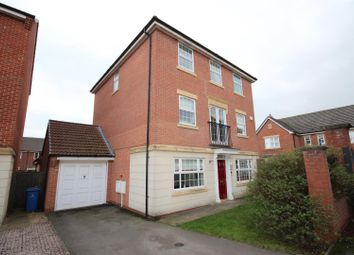 Thumbnail 4 bedroom detached house for sale in Crystal Close, Mickleover, Derby