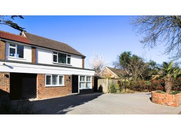 Thumbnail 4 bed detached house for sale in Halliford Road, Shepperton