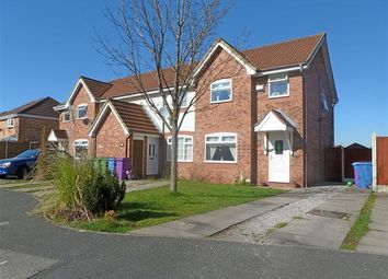 Thumbnail 3 bed semi-detached house to rent in Capricorn Crescent, Dovecot, Liverpool