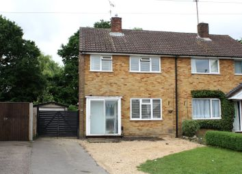 Thumbnail 3 bedroom semi-detached house for sale in Haddon Drive, Woodley, Reading, Berkshire