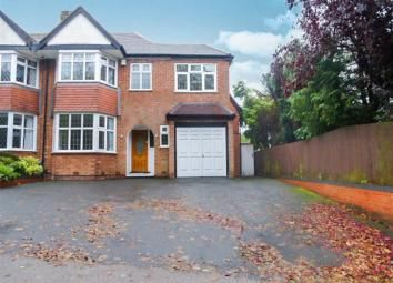 Thumbnail 4 bed semi-detached house to rent in Church Hill Road, Solihull