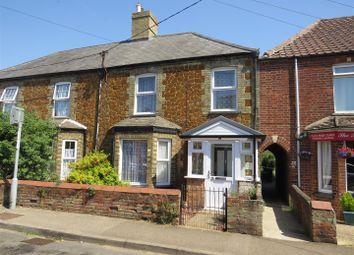 Thumbnail 3 bed terraced house for sale in High Street, Heacham, King's Lynn