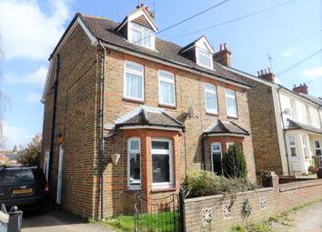 Thumbnail 3 bed semi-detached house to rent in Hillside Road, Ash Vale, Aldershot