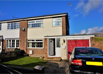 Thumbnail 3 bed semi-detached house for sale in Windmill Close, Buckley