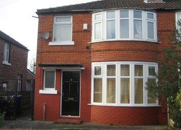 Thumbnail 3 bedroom semi-detached house for sale in Leighbrook Road, Fallowfield, Manchester