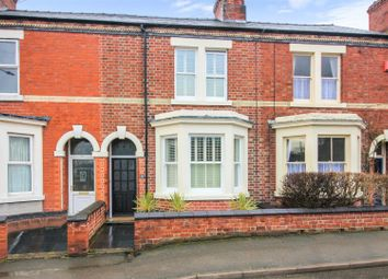 Thumbnail 3 bed terraced house for sale in Ashby Road, Melbourne, Derbyshire