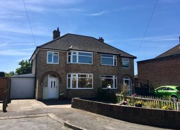 Thumbnail 3 bed semi-detached house for sale in Horndean Avenue, Wigston, Leicestershire