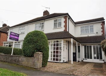 Thumbnail 4 bed semi-detached house for sale in Stonesby Avenue, Leicester