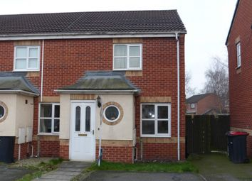 Thumbnail 2 bedroom semi-detached house for sale in Robin Bailey Way, Hucknall, Nottingham