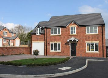 Thumbnail 5 bed detached house for sale in Arella Fields Close, Off Belper Road, Stanley Common, Ilkeston, Derbyshire