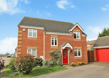 Thumbnail 4 bed detached house for sale in Hunter Close, Shortstown, Bedfordshire