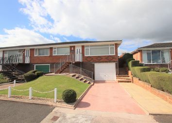 Thumbnail 2 bed semi-detached bungalow to rent in Lyme View Road, Torquay