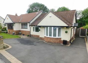 Thumbnail 2 bed semi-detached bungalow for sale in Langdale Road, Woodley, Stockport