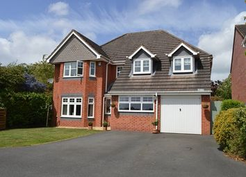 Thumbnail 4 bed detached house for sale in Drayton Grove, Market Drayton