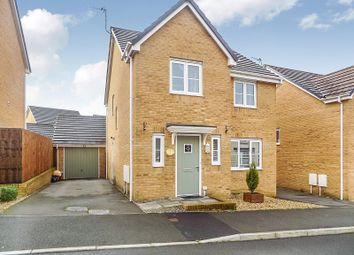 Thumbnail 4 bed detached house for sale in Ffordd Maendy, Sarn, Bridgend.