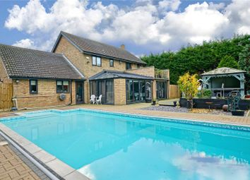 Thumbnail 3 bed detached house for sale in Kings Ripton Road, Sapley, Huntingdon, Cambridgeshire