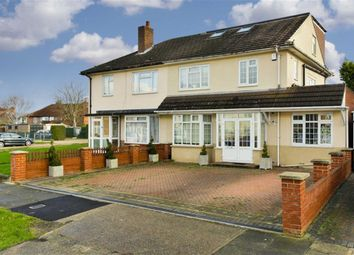 Thumbnail 4 bed semi-detached house for sale in Stroudes Close, Worcester Park, Surrey
