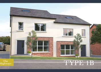Thumbnail 4 bedroom semi-detached house for sale in The Highways Ballyhampton Road, Larne