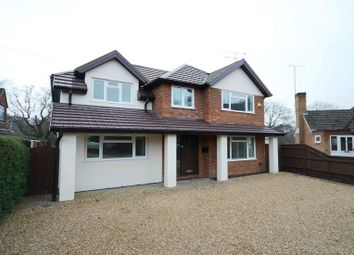 Thumbnail 4 bedroom detached house to rent in Watchetts Lake Close, Camberley