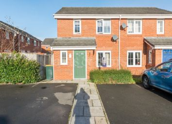 Thumbnail 2 bed semi-detached house for sale in Clos Ennig, Bettws, Newport.