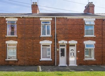 Thumbnail 2 bed terraced house for sale in Leo Terrace, Withernsea, East Riding Of Yorkshire