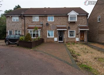 Thumbnail 2 bedroom terraced house for sale in Alder Close, Eaton Ford, St Neots, Cambridgeshire