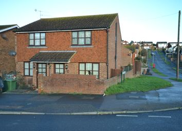 Thumbnail 2 bed semi-detached house to rent in Seabourne Road, Bexhill-On-Sea
