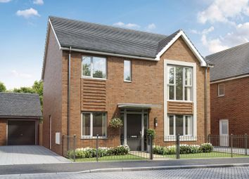Thumbnail 4 bed detached house for sale in Weogoran Park, Worcester